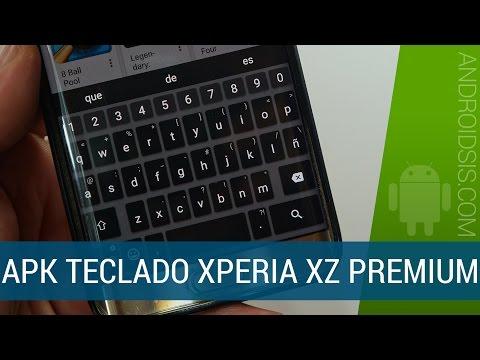 Instala el nuevo teclado del Xperia XZ Premium en cualquier Android