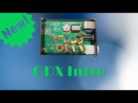 New Digital Radio for FT8/JS8Call from QRP Labs! - QDX