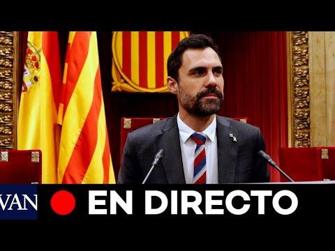 DIRECTO:  Sesión de control al Govern en el Parlament de Catalunya