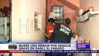 Zona oriental: Menor de 12 años muere a raíz del dengue grave