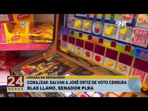 CONAJZAR: Salvan a José Ortiz de Voto Censura