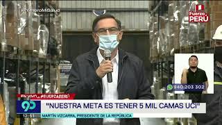 Vizcarra se pronuncia en primer día de cuarentena focalizada   Mensaje completo