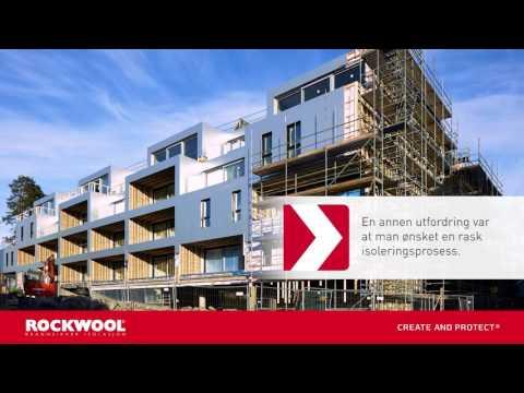 Luksusleiligheter i Oslo isoleres med ROCKWOOL isolasjon