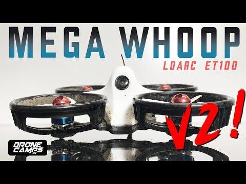 Kingkong LDARC ET100 V2 - 2S MEGA WHOOP! | Honest Review & Flights