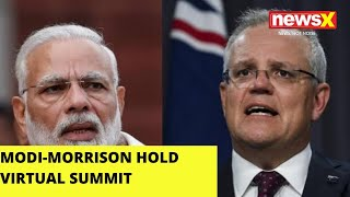 Modi- Morrison hold virtual Summit |NewsX - NEWSXLIVE