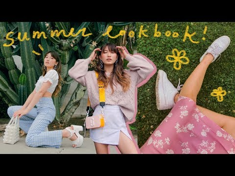 Video: SUMMER LOOKBOOK (lots o' outfit ideas)
