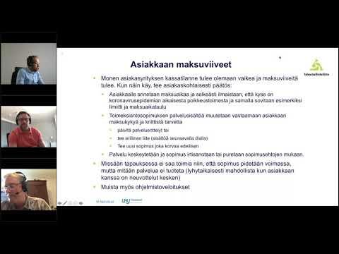 Taloushallintoliiton ja Netvisorin webinaari - Survival mode - Johtaminen poikkeusoloissa