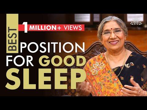 The Right Position to Sleep Peacefully at Night   Dr. Hansaji Yogendra