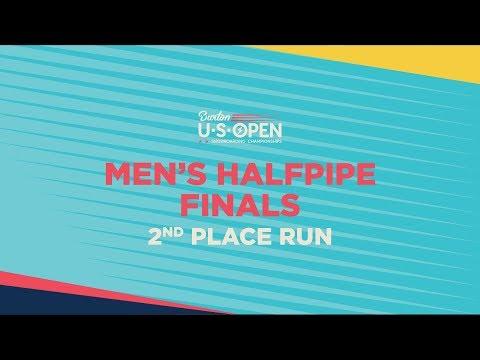 2019 Burton U·S·Open Men?s Halfpipe Finals ? Raibu Katayama's 2nd Place Run