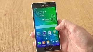 Take a look at the luxurious, metal Samsung Galaxy Alpha