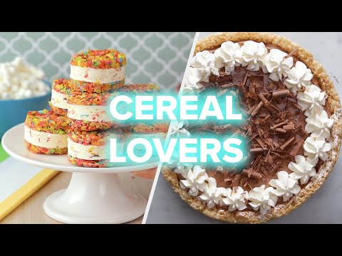 Delicious Cereal Desserts That Don't Require A Spoon ? Tasty