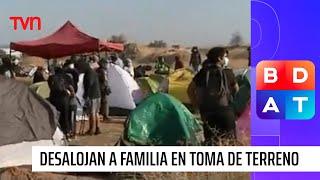 Carabineros desaloja a decenas de familias en toma de terreno en Renca | Buenos días a todos