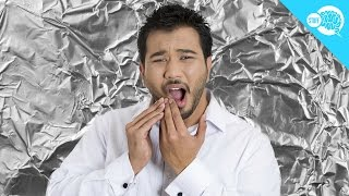 Why Is It Painful To Bite Aluminum Foil?