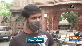 Devotees flock to Delhi's Bankhandi Mahadev Temple on 1st Monday of 'Sawan' month - INDIATV