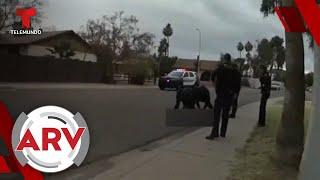 Policía mata a un adolescente latino y desarmado en Arizona   Al Rojo Vivo   Telemundo