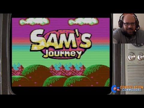 Sam's Journey (2017) | C64 | Longplay Parte 1 | Gameplay&Comentarios: Juanjo