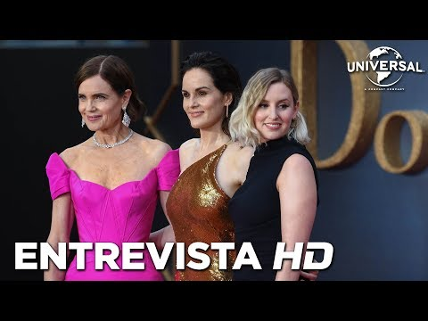 DOWNTON ABBEY - Entrevista a los actores