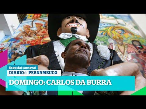 Carlos da Burra, o homem que dá vida aos bonecos gigantes de Olinda