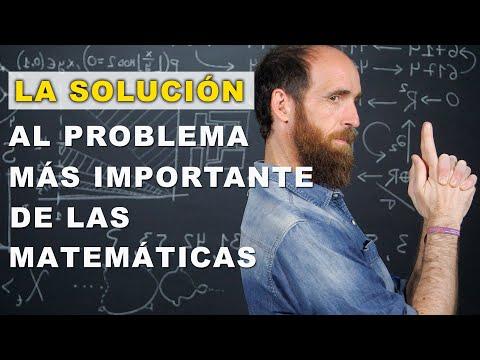 La solución al problema más importante de la historia de las matemáticas