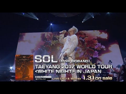 SOL (from BIGBANG) - WAKE ME UP (TAEYANG 2017 WORLD TOUR [WHITE NIGHT] IN SEOUL)