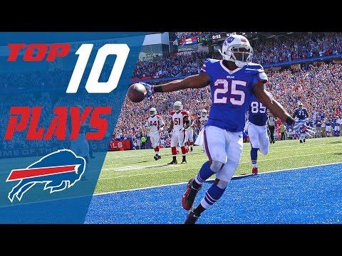 Bills Top 10 Plays of the 2016 Season | NFL Highlights