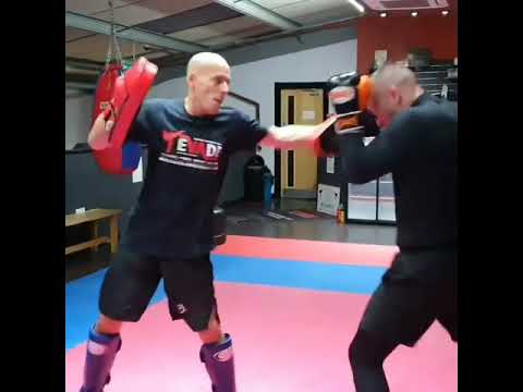 Kickboxing Pad Work Drills for Speed and Power with David Breed