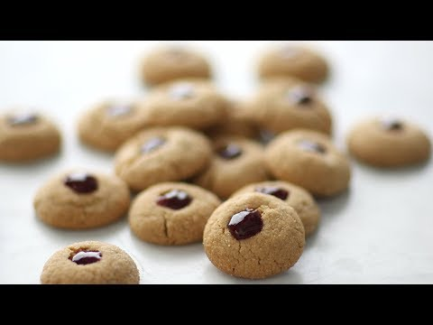 Peanut Butter and Jelly Thumbprints- Everyday Food with Sarah Carey