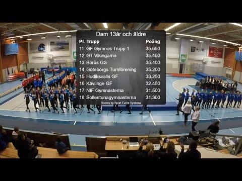 Rikstrean HT 2018 - damer 13+ pool 2