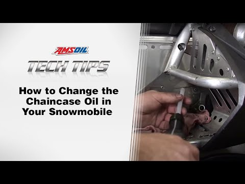 AMSOIL Tech Tips: Changing the Oil in your Snowmobile
