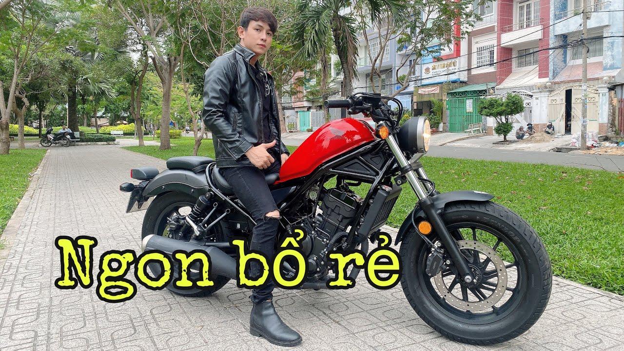 CẢM NHẬN Honda Rebel 300 - 86 TRIỆU | MINHBIKER