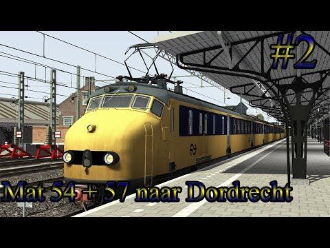 Met de Mat 54  57 naar Dordrecht  Train Simulator 2017