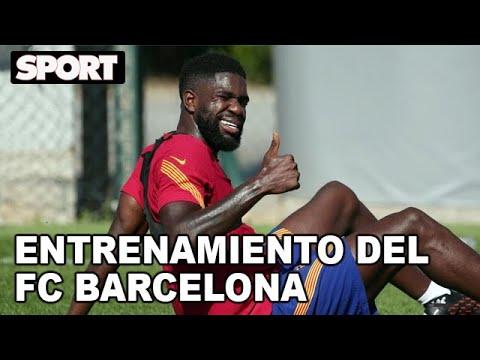 EL ENTRENAMIENTO DEL FC BARCELONA para preparar EL PARTIDO ANTE OSASUNA 🏋