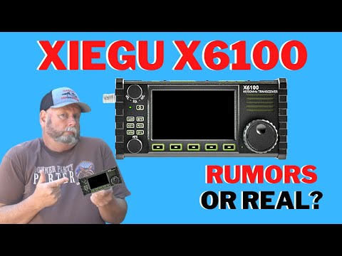 Xiegu X6100 Is this for real and a IC705 and KX2/3 destroyer?? FIRST LOOK!!