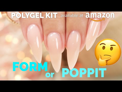PolyGel with Dual Forms/Poppits and Paper Forms