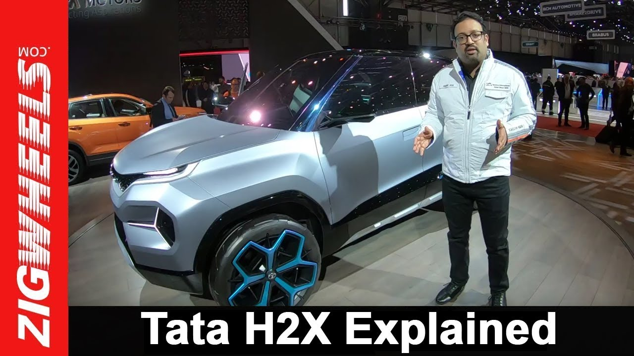 Exclusive: Tata H2X Concept Explained By Pratap Bose  VP Global Design, TML | ZigWheels.com