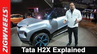 Exclusive: Tata H2X Concept Explained By Pratap Bose  VP Global Design, TML | ZigWheels.com