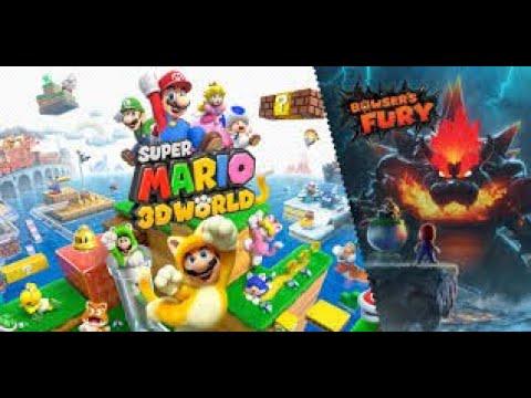 Lets Stream Mario 3D world + Bowsers fury mit euch und @thefirelion