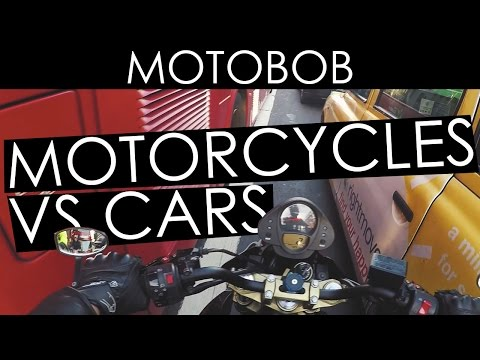 Are Motorcycles Faster Than Cars In the City? A Test!