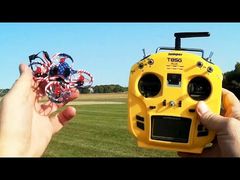 Eachine US65 Pro 2S Micro Racer Drone Outdoor Flight Test Review