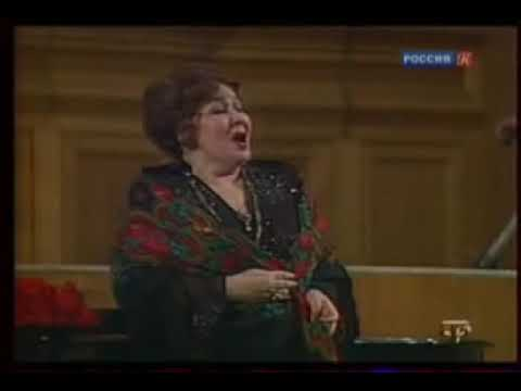 "М. Балакирев. ""Обойми, поцелуй"". Слова А. Кольцова. Ирина Архипова, Евгений Светланов"