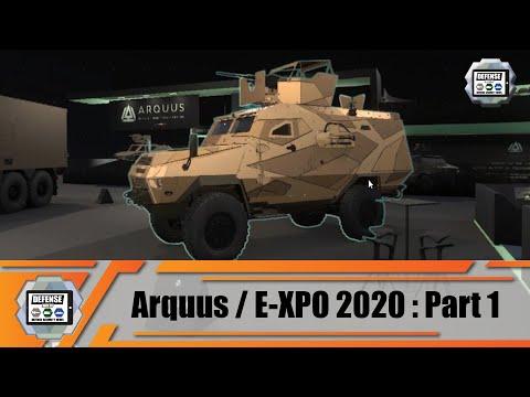 ARQUUS France presents new APCs Fortress Mk 2 Sherpa Light Scout VAB Mk III Virtual E-XPO Defense