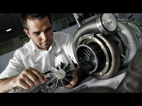 F1 - Comment assemble-t-on un moteur de F1 ""