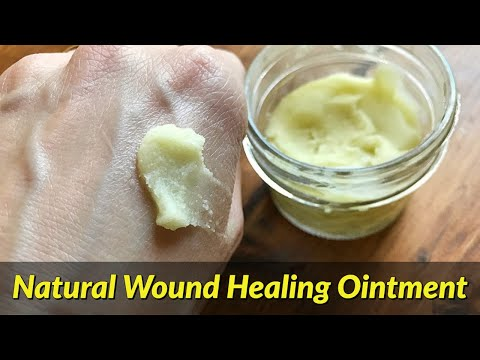 How to Make an Antibacterial Wound Healing Ointment