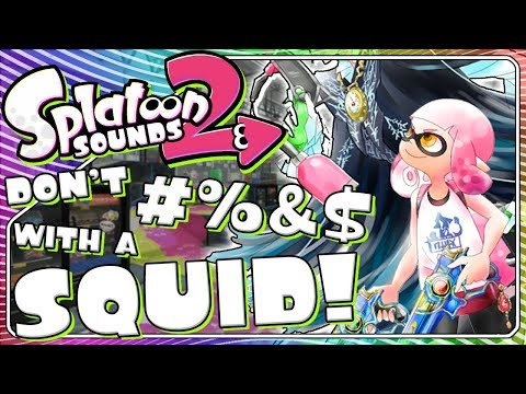 Let's DANCE Squids! | Splatoon with Bayonetta Sounds