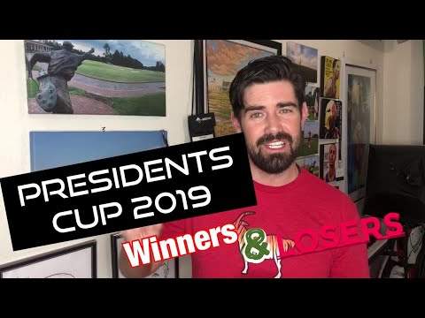 Presidents Cup 2019 (Winners and Losers)