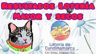 Resultado Lotería de Cundinamarca Premio Mayor y Secos Lunes 30 de Noviembre de 2020