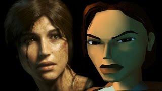 Lara Croft Tomb Raider Face Morph (1996 - 2017)