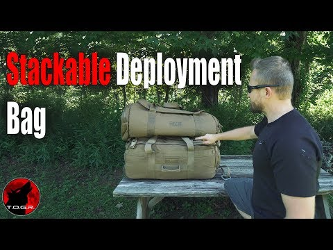 Modern Deployment Bag - Force Protector Gear Deployer 75 Bag - Review
