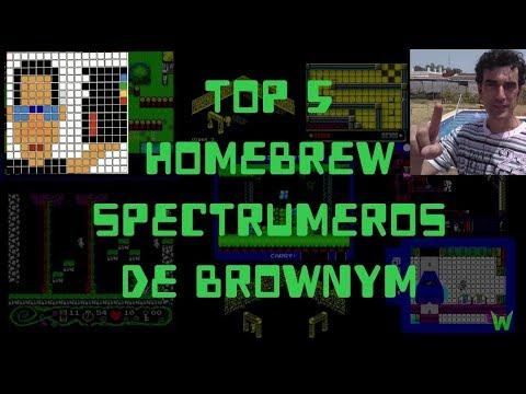 Top 5 de Homebrew Spectrumero de Brownym
