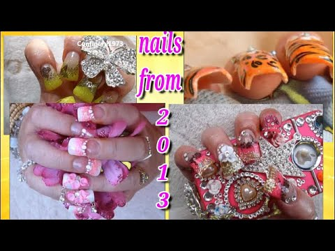 1 HOUR COMPILATION OF ACRYLIC NAILS FROM 2013 | MY DESIGNS WERE CRAZY BACK THEN!! | ABSOLUTE NAILS